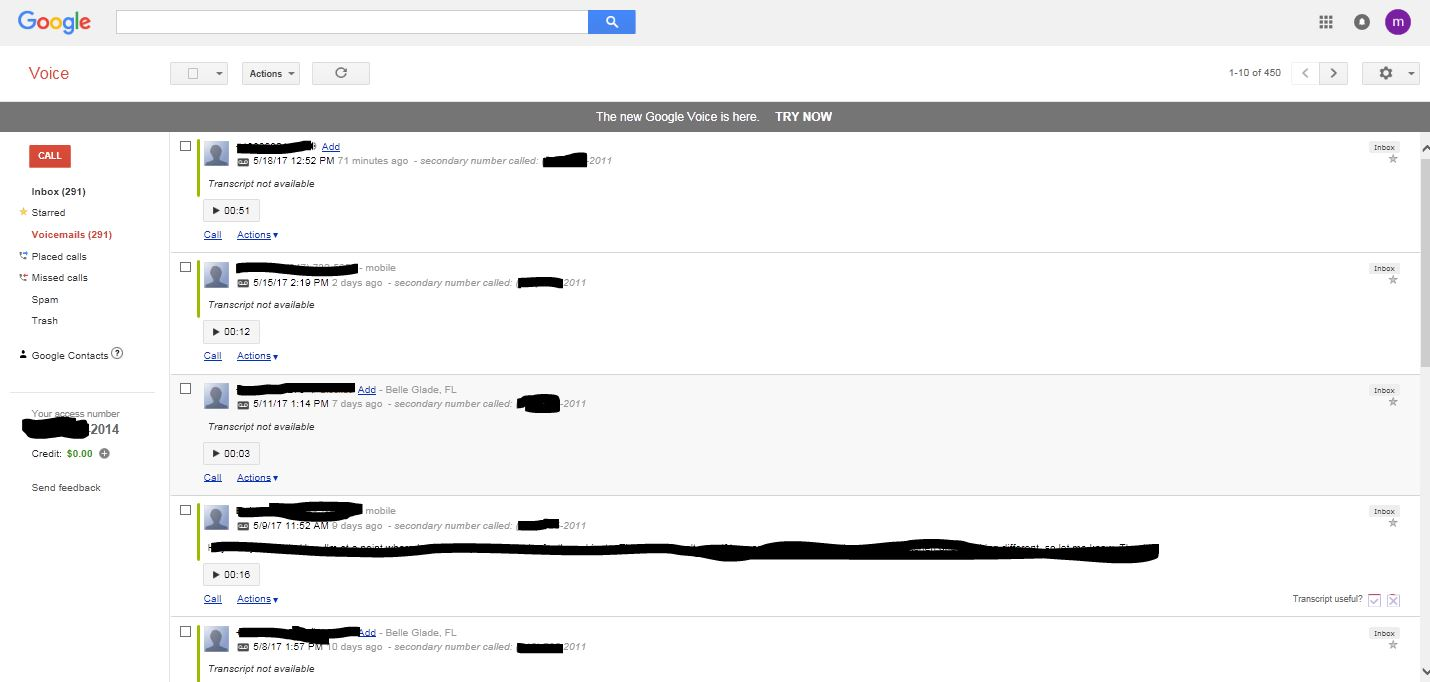 Google Voice Transcription Stopped Working Google Product Forums