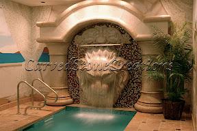 Fountains, Interior, wall fountain