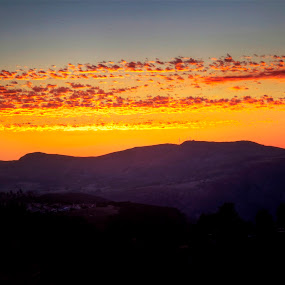 Purple Mountain's Majesty by Chip Bolcik - Backgrounds Nature