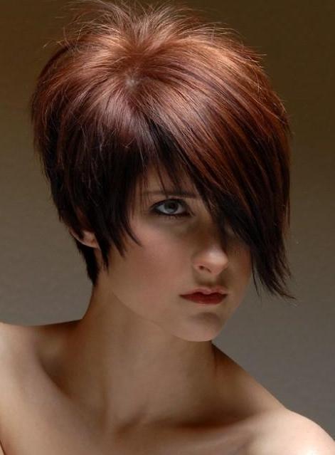 Peinados Para Pelo Corto Sin Flequillo - Cortes-de-pelo-corto-sin-flequillo