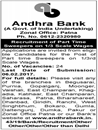 Andhra Bank Patna Jobs 2017 www.indgovtjobs.in