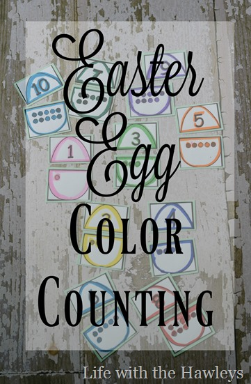 Easter Egg Color Counting- Life with the Hawleys