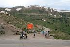 Jordan at the top of Loveland Pass