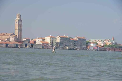 Approche de Venise en bateau (liaison Alilaguna depuis l'aéroport).