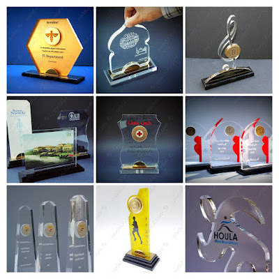 Classic Acrylic Trophies
