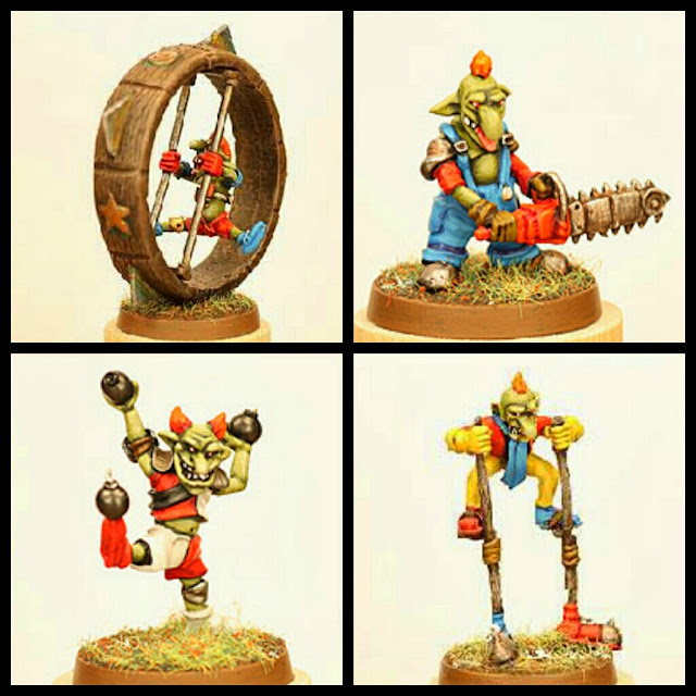 Goblins Circo Blood Bowl Gaspez Art