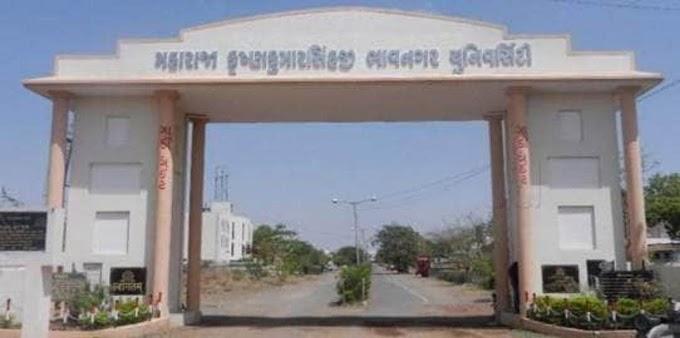MK Bhavnagar University declared passnote about 19/04/2021 exam schedule has postpond