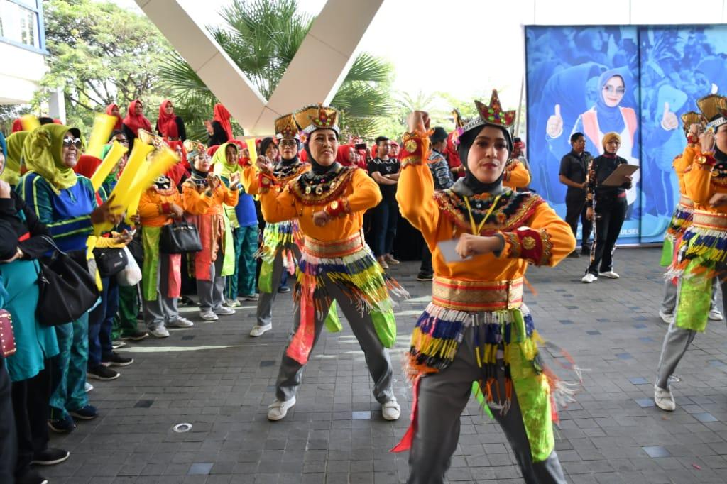 TP PKK Sinjai Raih Juara II, di HKG ke 47