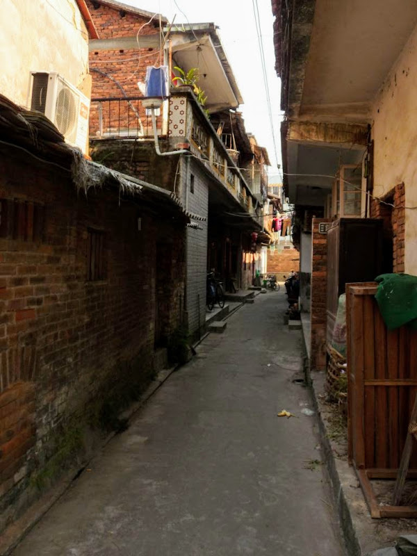 """Faubourg"" de Xiamen, en route pour Tou lou"