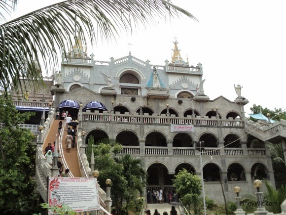 Our Lady of Lindogon Sanctuary Castle Church in Simala