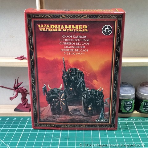 Games Workshop AoS Warhammer Chaos Warriors box