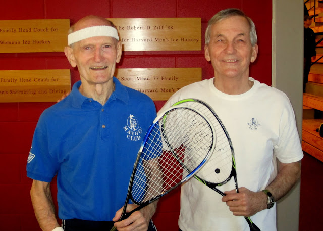 Men's 75+: Champion - Douglass B. Lee (M.I.T./Concord-Acton); Finalist - Lewis Holmes (Maugus Club)