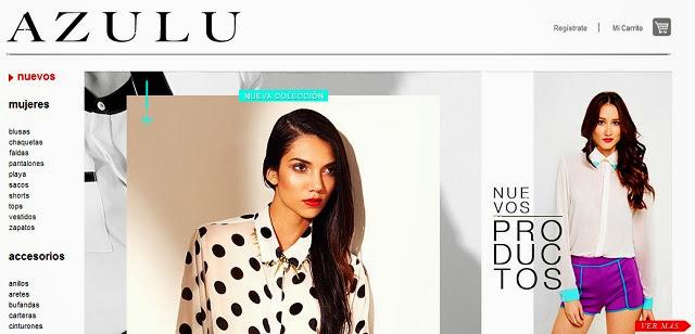 AZULU lanza su plataforma de compras por internet