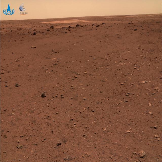 cámara del róver muestra que la superficie de Marte