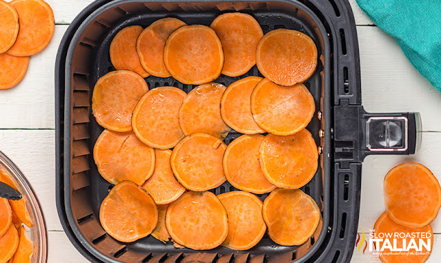 Sweet Potato Chips in the Air Fryer