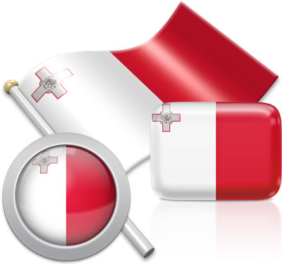 Maltese flag icons pictures collection