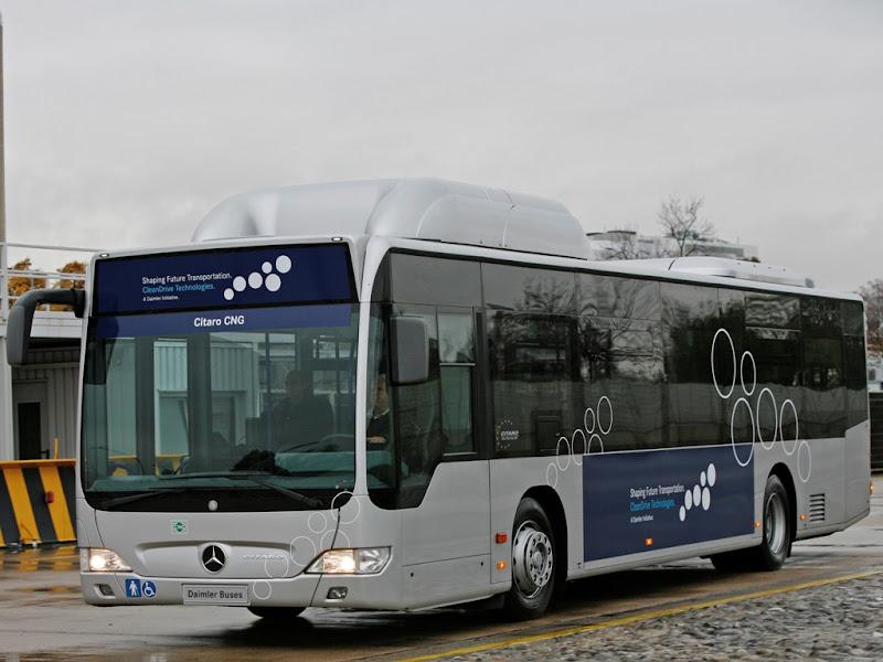 Mercedes Citaro 12 CNG (LNG, sprężony, skroplony gaz ziemny, metan)
