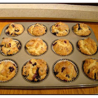Muffins, Blueberry Cream Cheese.
