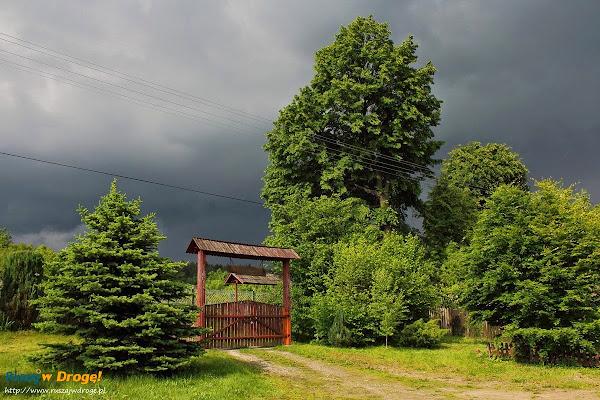 Chmury burzowe w Trzciance