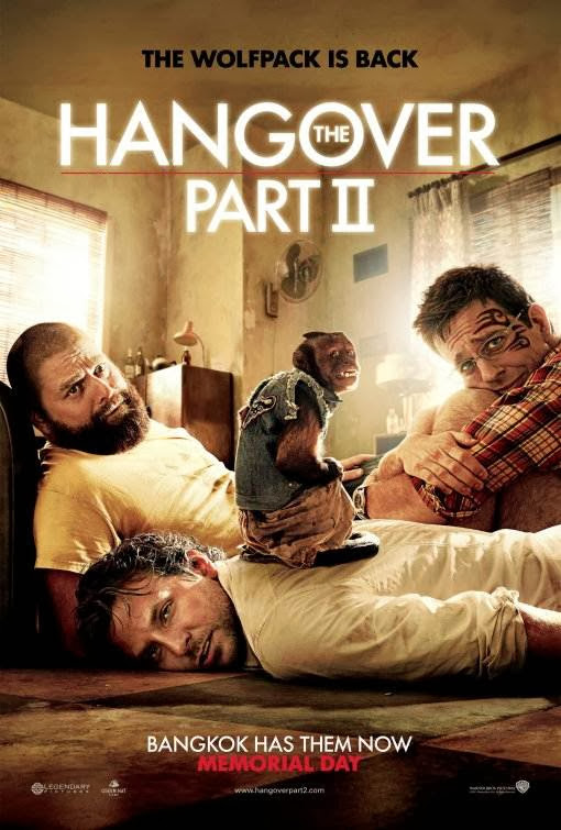 Poster Of The Hangover Part II (2011) Full Movie Hindi Dubbed Free Download Watch Online At Alldownloads4u.Com