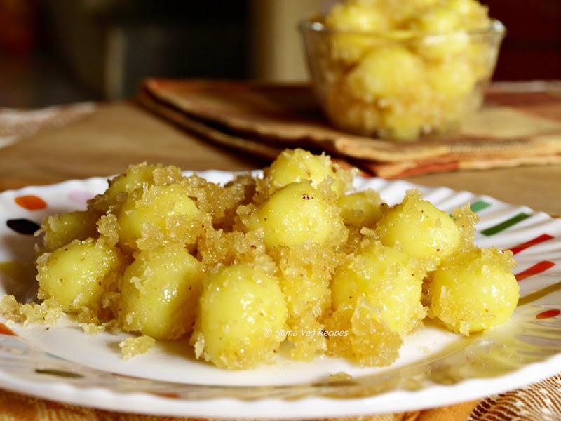 Undlkai or Sweet Kozhukattai
