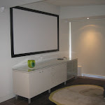 Bose Home Theatre System With 100 Inch Mounted Screen.JPG