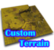 How to create Custom Terrain diorama scenery