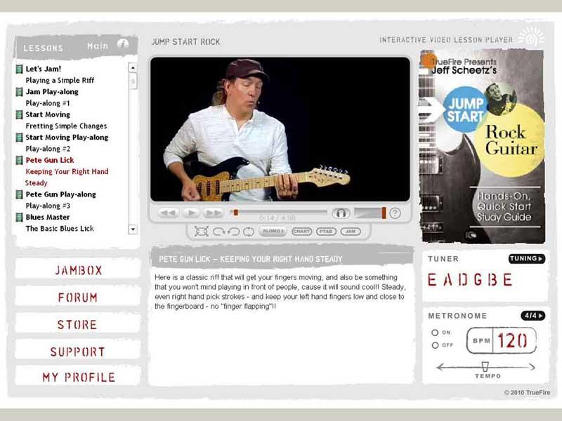 Jeff Scheetz - Jump Start Rock Guitar