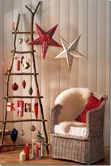 árboles-de-Navidad con-escaleras-de-madera (4)