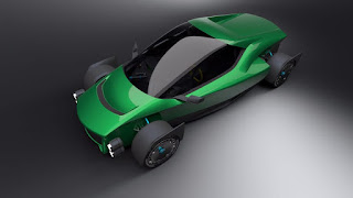 The outrageous 1-Megawatt electric Miss R Supercar