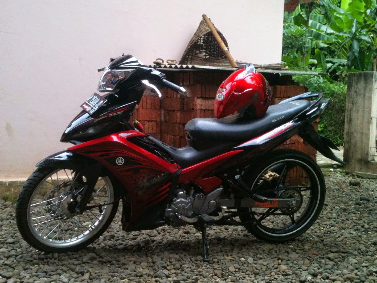 Modifikasi New Jupiter Mx Velg 17