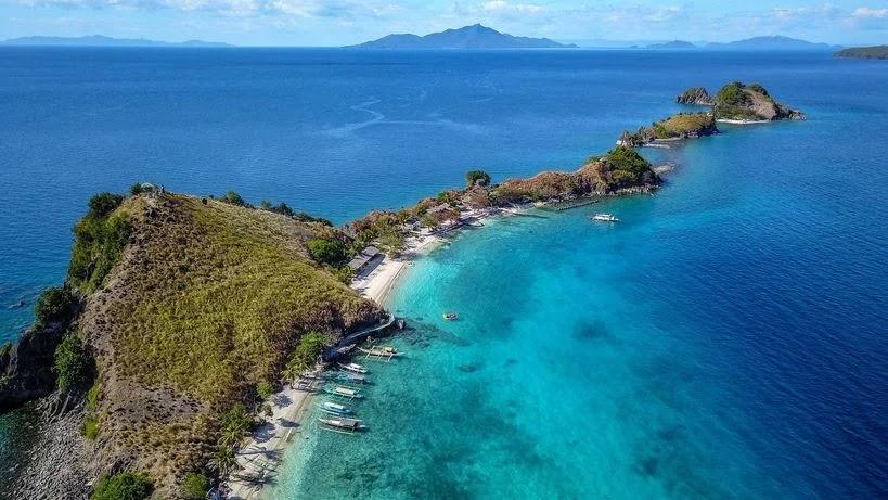 Sambawan Island in Biliran