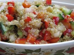 Quinoa Salad - Mediterranean Style Lisa's Version Recipe
