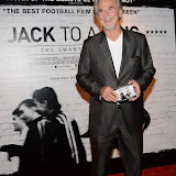 WWW.ENTSIMAGES.COM -  Trevor Eve  arriving    at      THE UK PREMIERE OF (JACK TO A KING) THE SWANSEA STORY at EMPIRE, LEICESTER SQUARE London September 12th 2014.The movie of Swansea City's rise from near extinction to the top of the Premier League                                                 Photo Mobis Photos/OIC 0203 174 1069