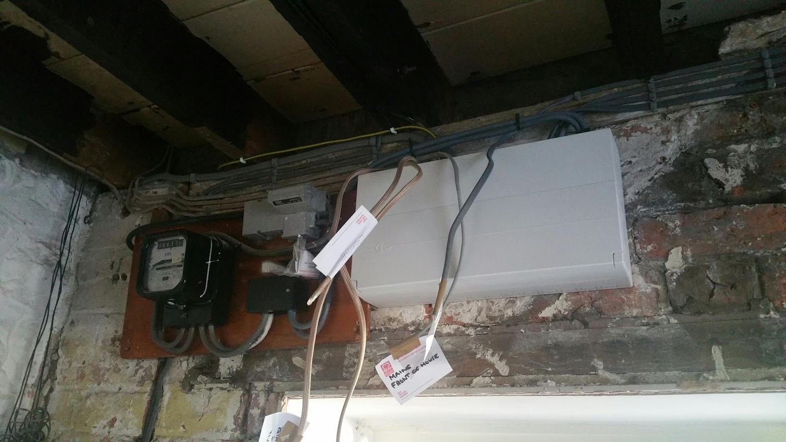 Rewiring An Old House Plaster Walls