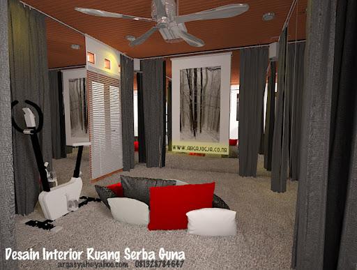 Desain Interior Ruang Serba Guna Modern by Argajogja