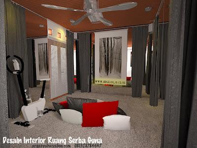 inspirasi desain interior gedung serbaguna