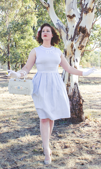 A Decade of Style Challenge - 2015 Vintage Fashion   Lavender & Twill
