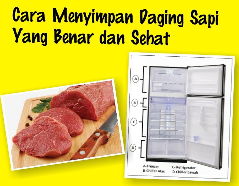 Cara Menyimpan Daging Sapi Yang Benar dan Sehat ~ Resep ...