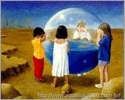 A missão da criança indigo na transição planetária é a de mentores no processo de regeneração.