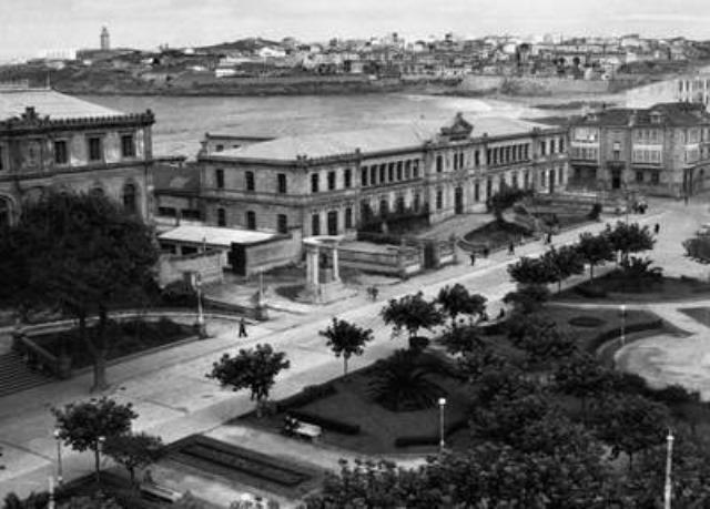 La plaza Pontevedra1957
