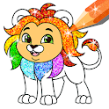 Glitter Coloring and Drawing Book for Kids icon
