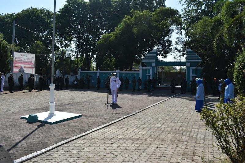 PERINGATI HUT TNI KE 75, KODIM PASURUAN LAKSANAKAN ZIARAH  NASIONAL DI TMP KOTA PASURUAN