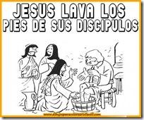 semanadibujos-de-semana-santa-jesus-lava-los-pies-de-sus-discipulos