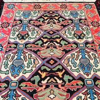 Nourison Chain Woven Wool Area Rug