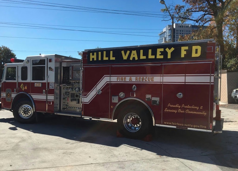 Hill Valley Firetruck