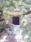 Der Eingang zum italienischen Bunker #2