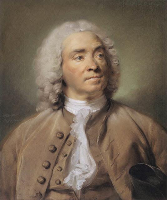 Jean-Baptiste Perronneau - Portrait of Gabriel Huquier