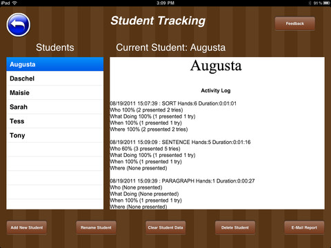 QuestionIt Student Tracking