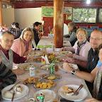1. gemeinsames Essen mit Jürgen Renato Monique und Marlene